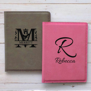 Monogrammed Passport Holder - Sacha & Co