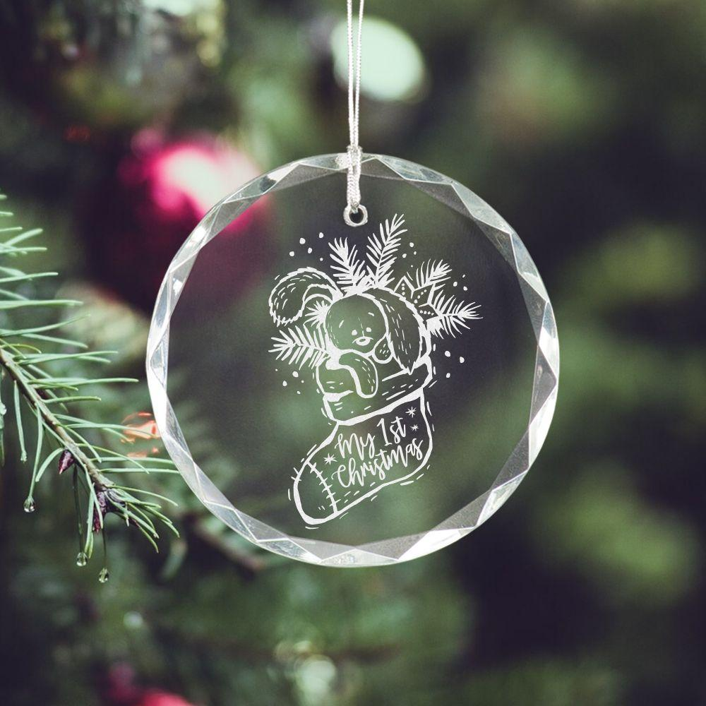 My First Christmas Ornament - Sacha & Co