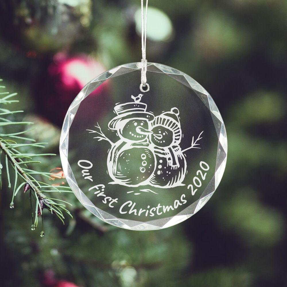 Our First Christmas Ornament - Sacha & Co