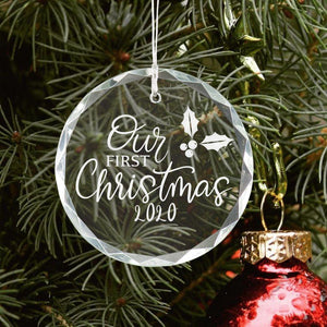 Our First Christmas Together Ornament - Sacha & Co
