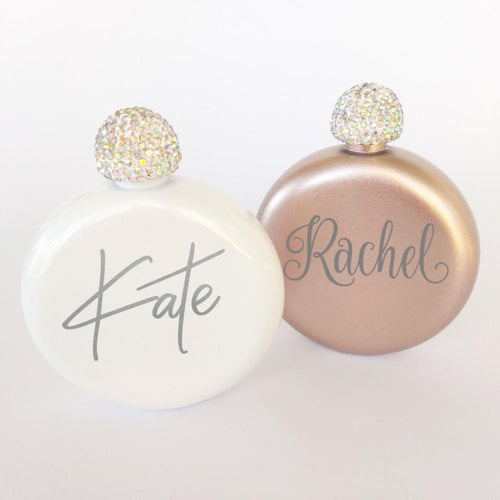 Personalized Flasks for Women - Sacha & Co