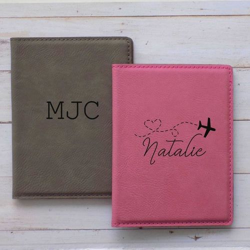 Personalized Passport Holder for Women - Sacha & Co