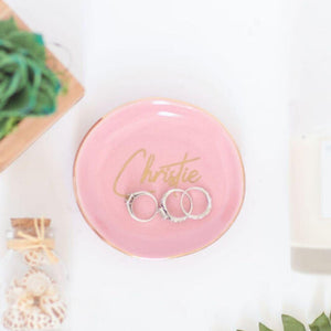 Personalized Ring Dish - Sacha & Co