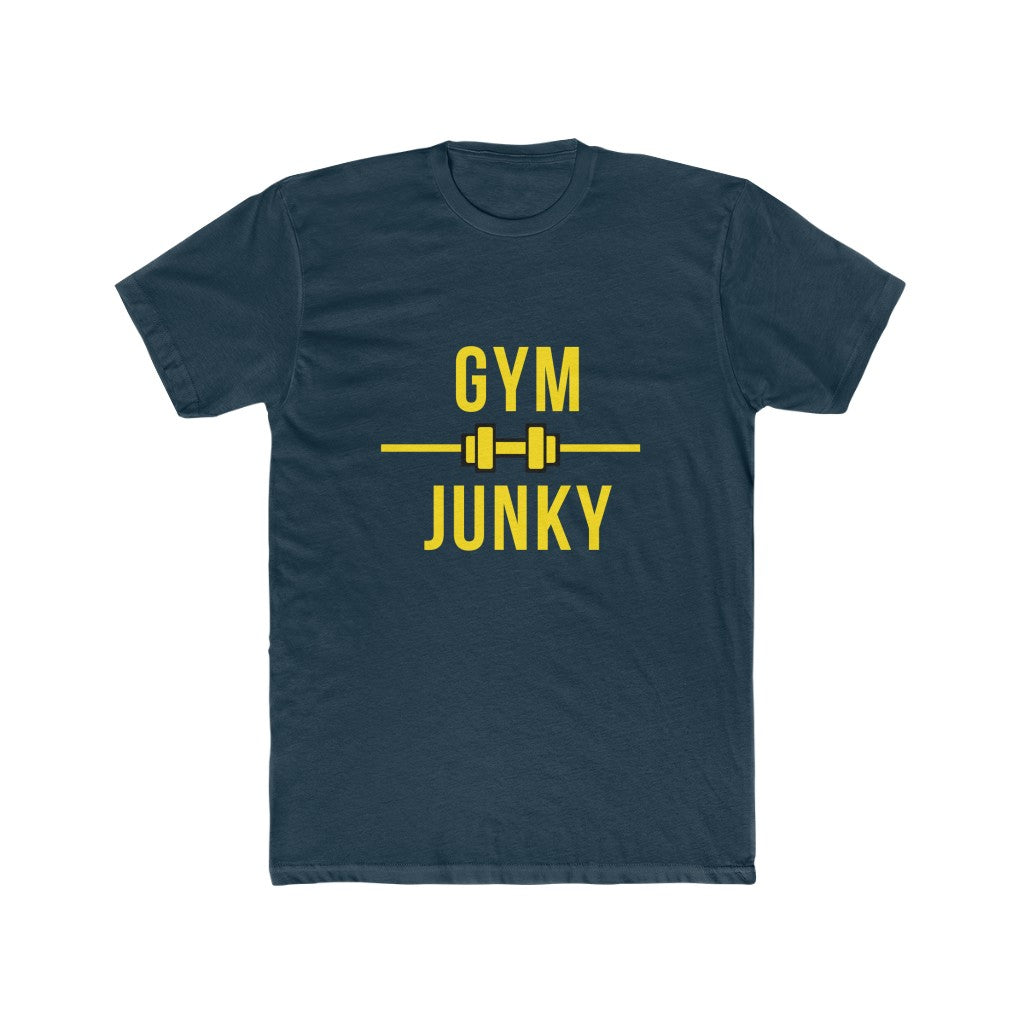 Gym Junky Men's Cotton Crew Tee