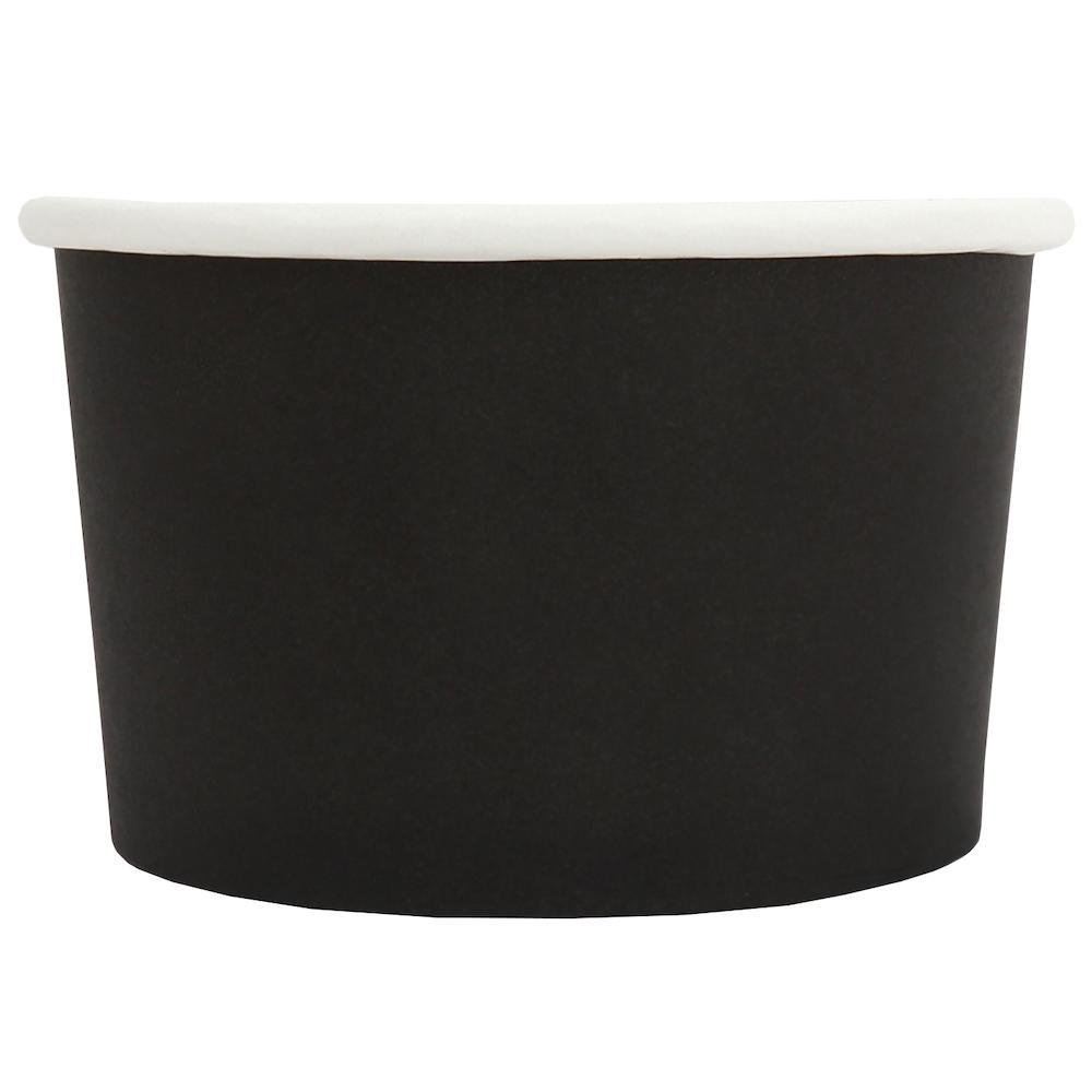 UNIQ 4 oz Black Eco-Friendly Compostable Take Out Cups