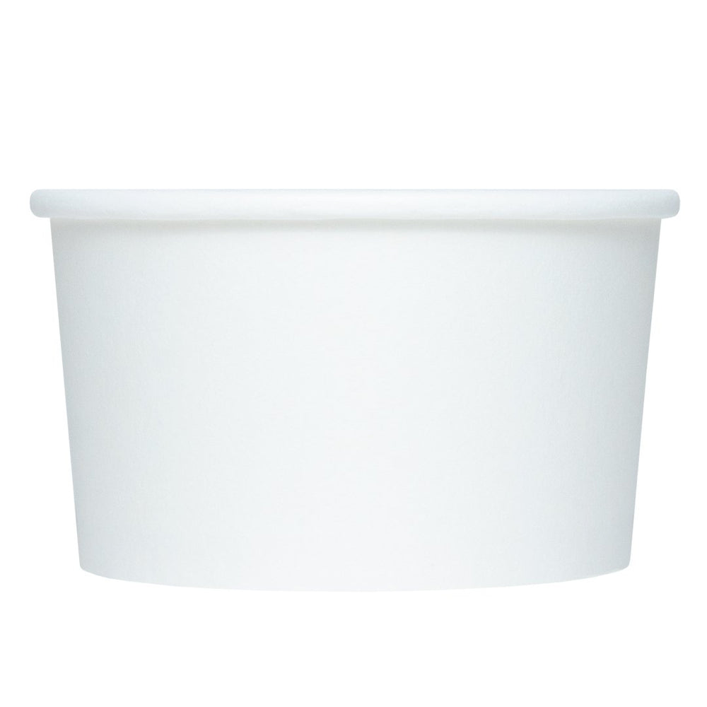 UNIQ 4 oz White Eco-Friendly Compostable Take Out Cups