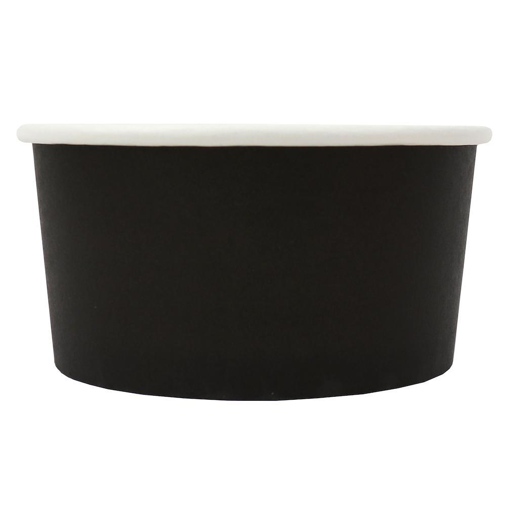 UNIQ 6 oz Black Eco-Friendly Compostable Take Out Cups