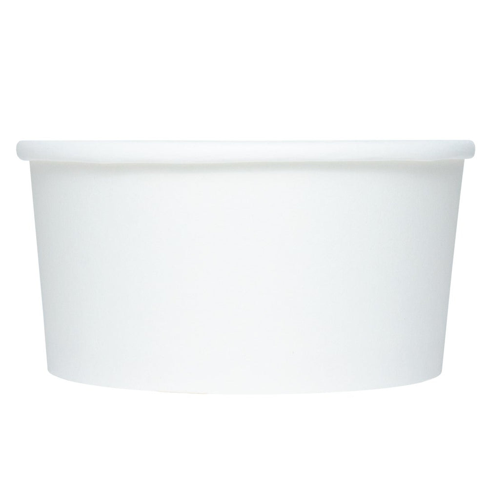 UNIQ 6 oz White Eco-Friendly Compostable Take Out Cups