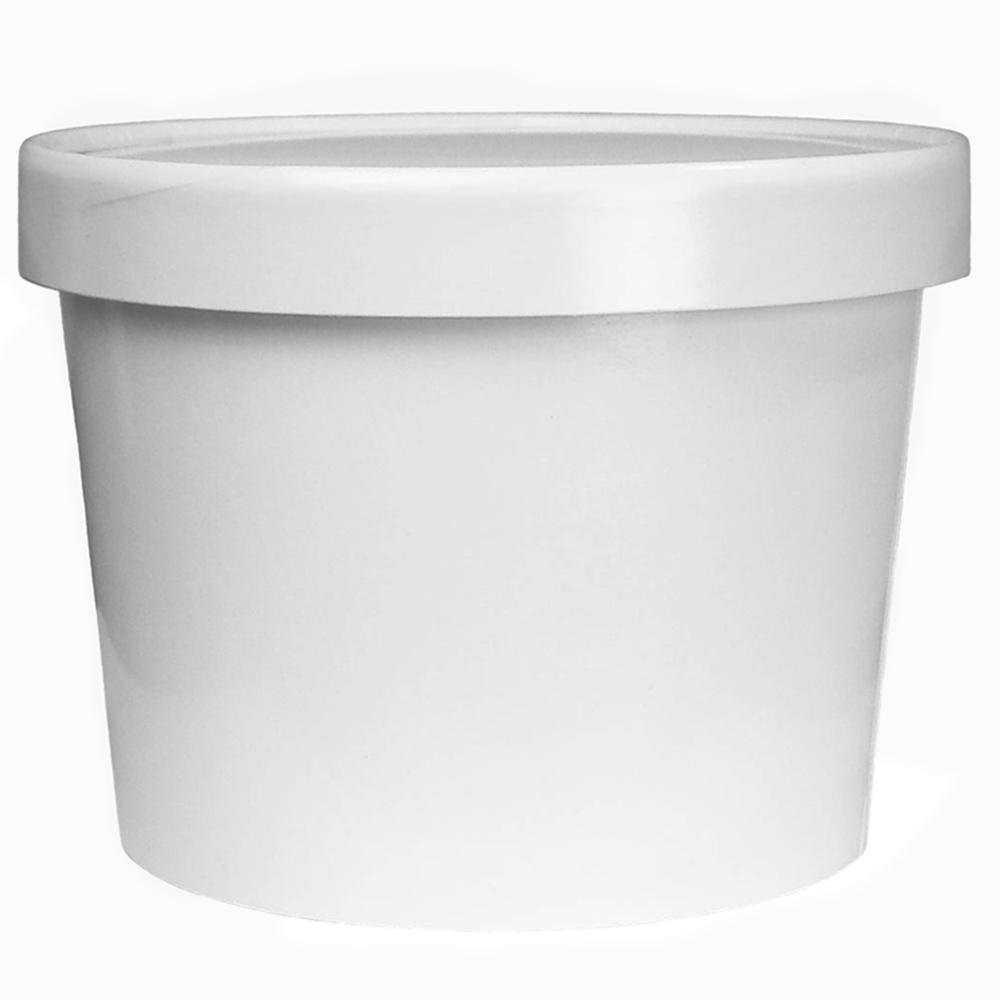 UNIQ® 8 oz Take Out Containers With Non-Vented Lids