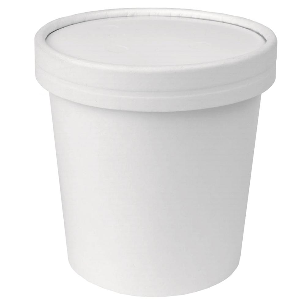 UNIQ® Pint 16 oz Take Out Containers With Non-Vented Lids