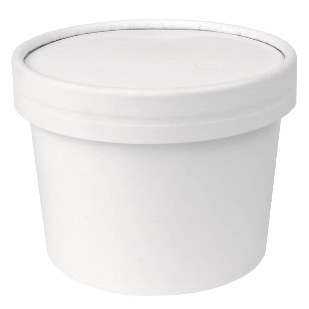 UNIQ® 12 oz Take Out Containers With Non-Vented Lids