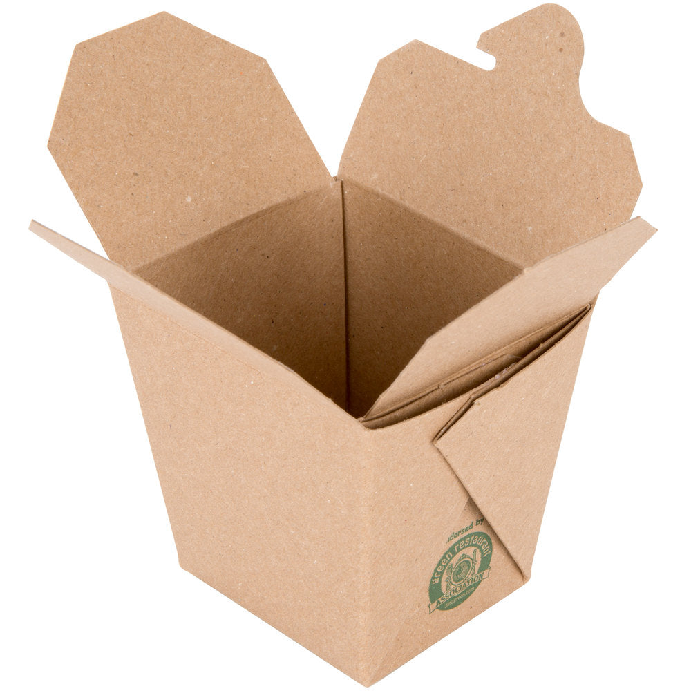 8 oz. Kraft Paper Take-Out Container
