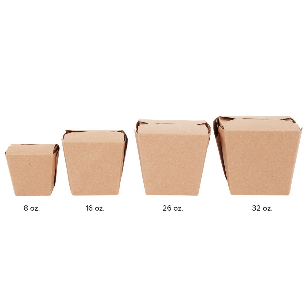 32 oz. Kraft Paper Take-Out Container