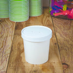 UNIQ 16 oz Take Out Containers With Vented Lids