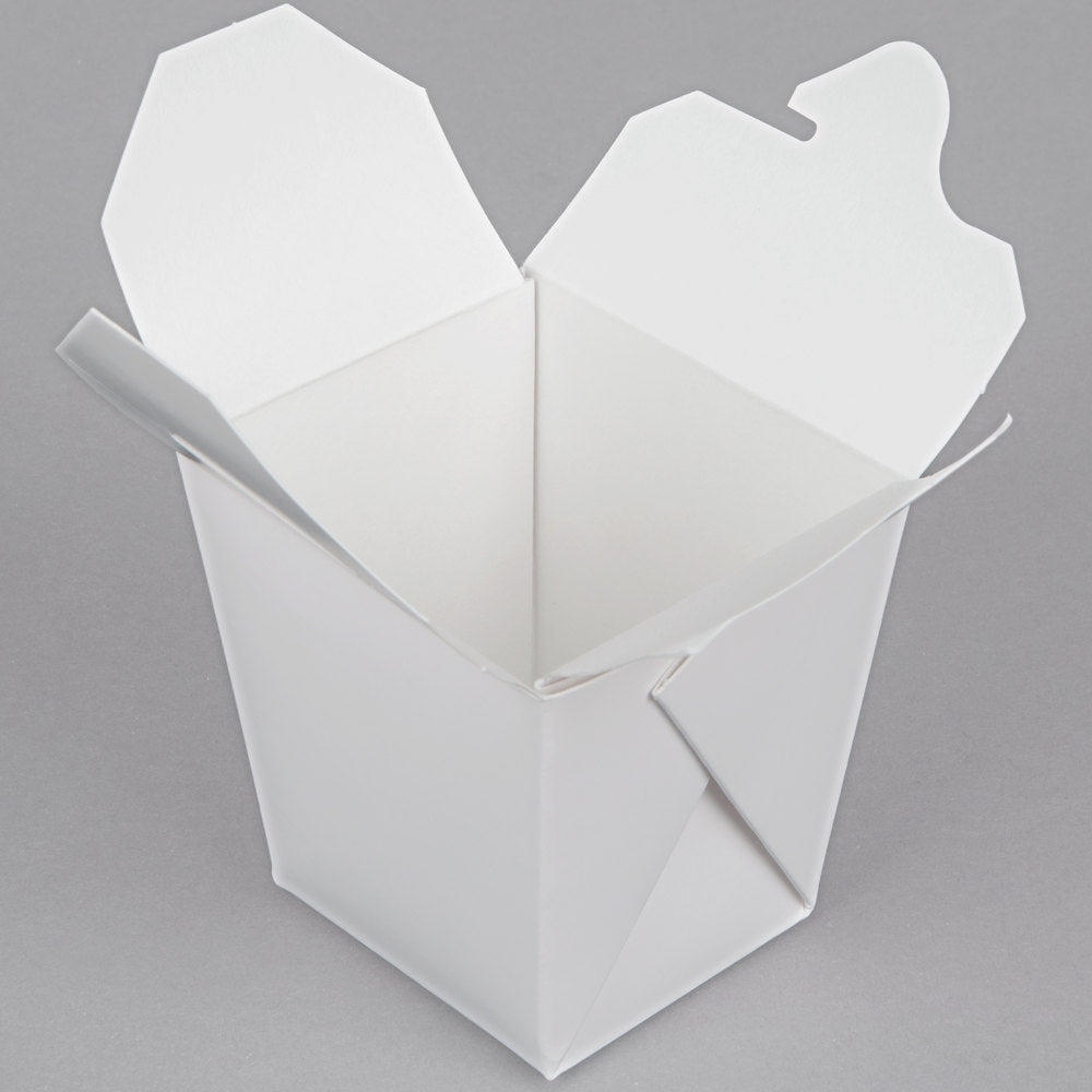 26 oz. White Paper Take-Out Container