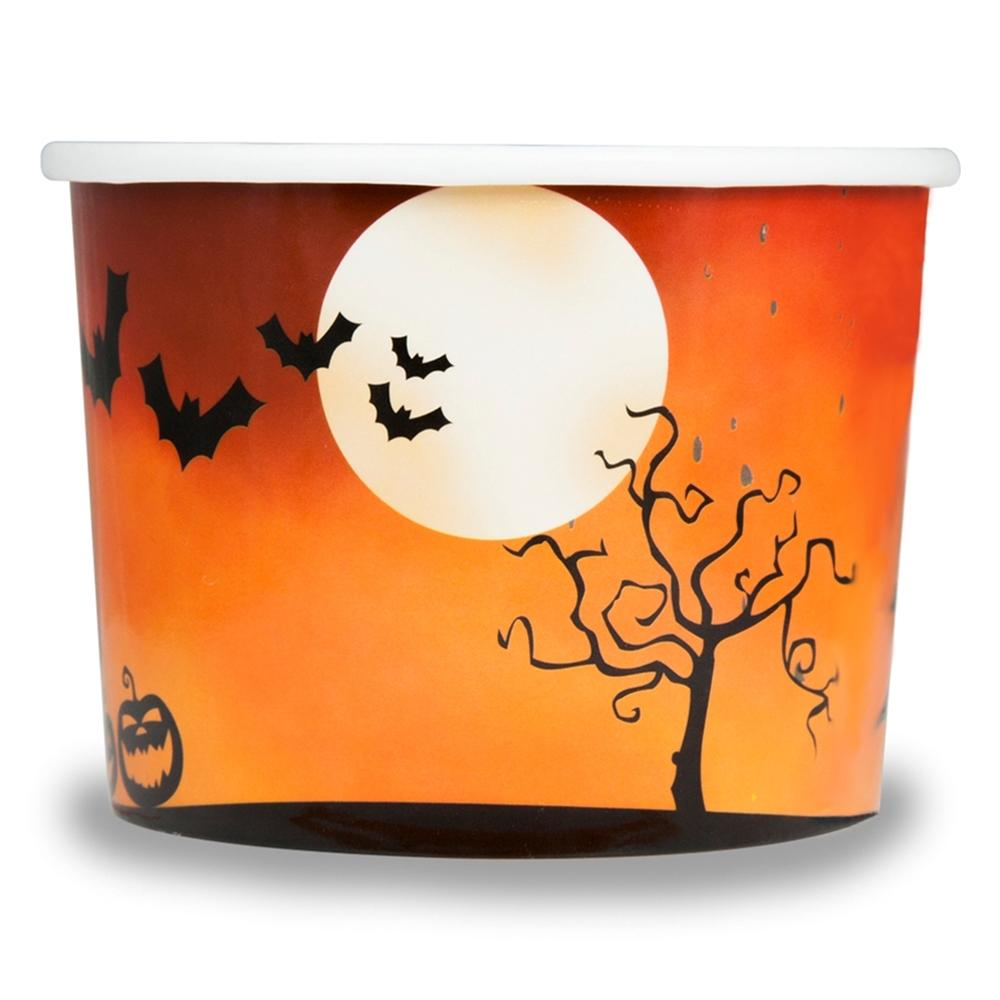 UNIQ 8 oz Spooky Halloween Take Out Cups