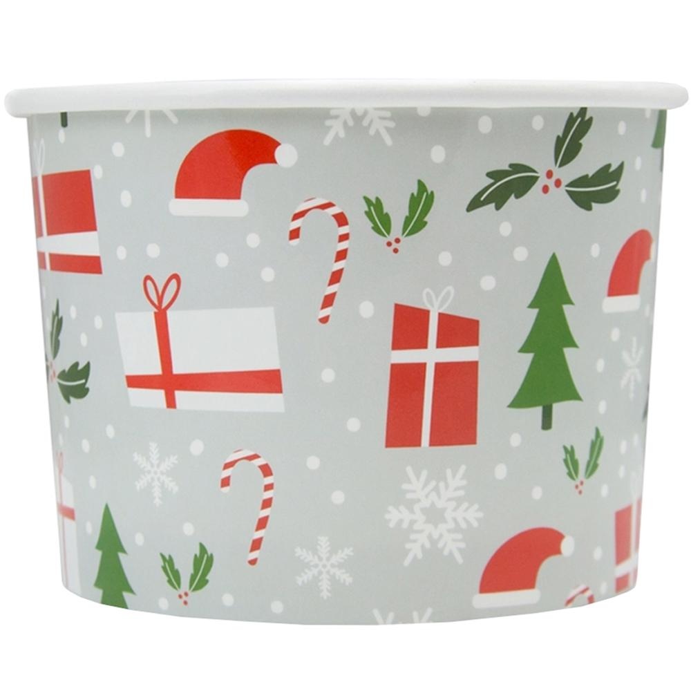 UNIQ 8 oz Happy Holidays Take Out Cups