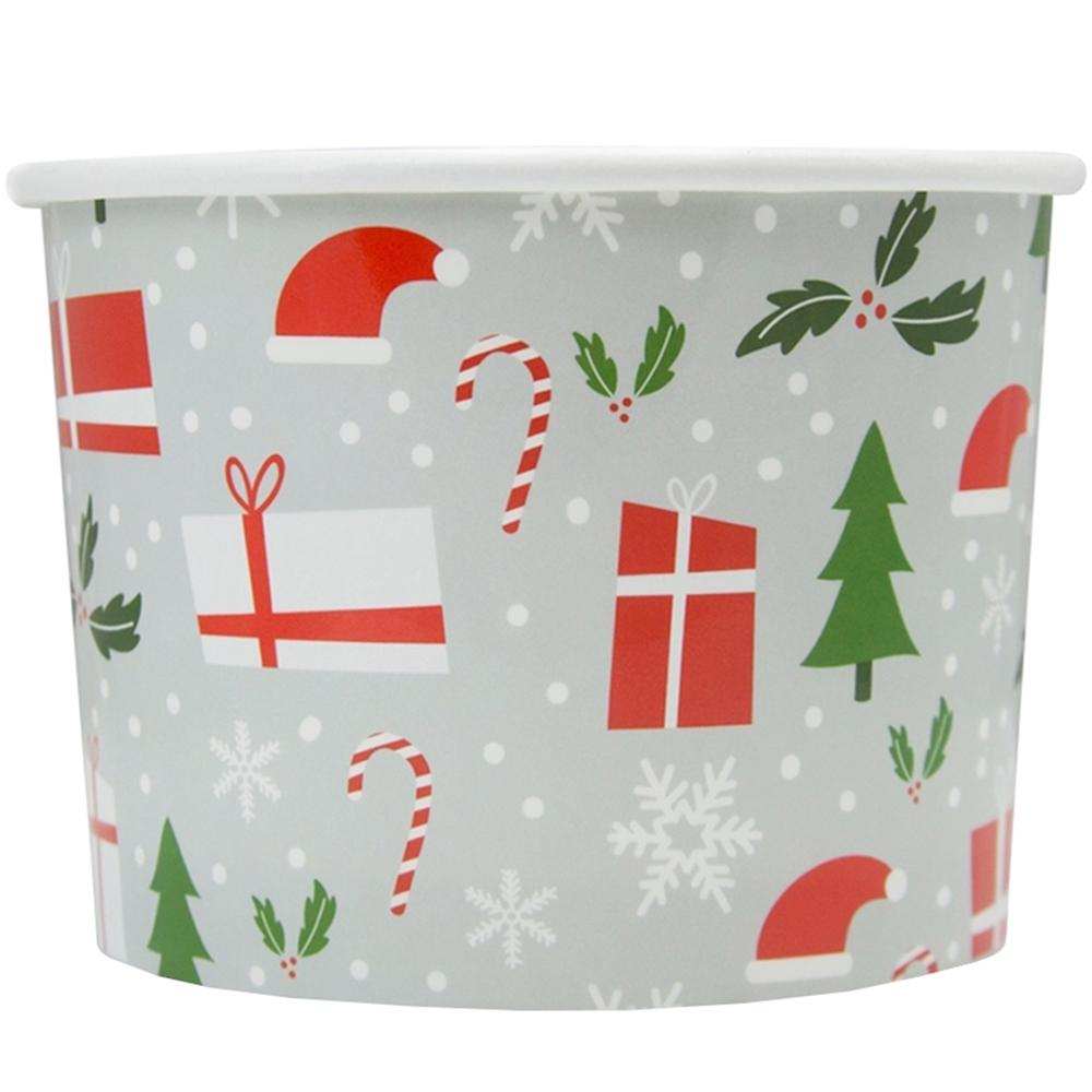UNIQ 12 oz Happy Holidays Take Out Cups