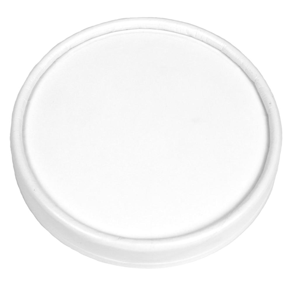 UNIQ® 6/8 oz Pretty Perfect Paper Take Out Lids