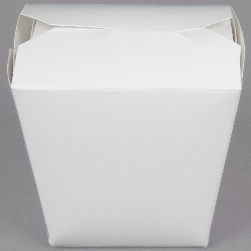 16 oz. White Paper Take-Out Container