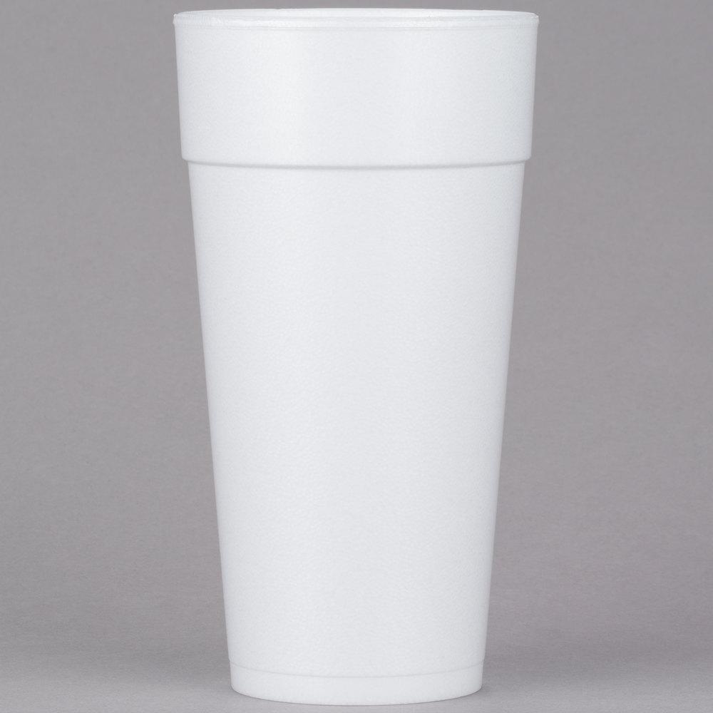 24 oz Foam Drink Cup