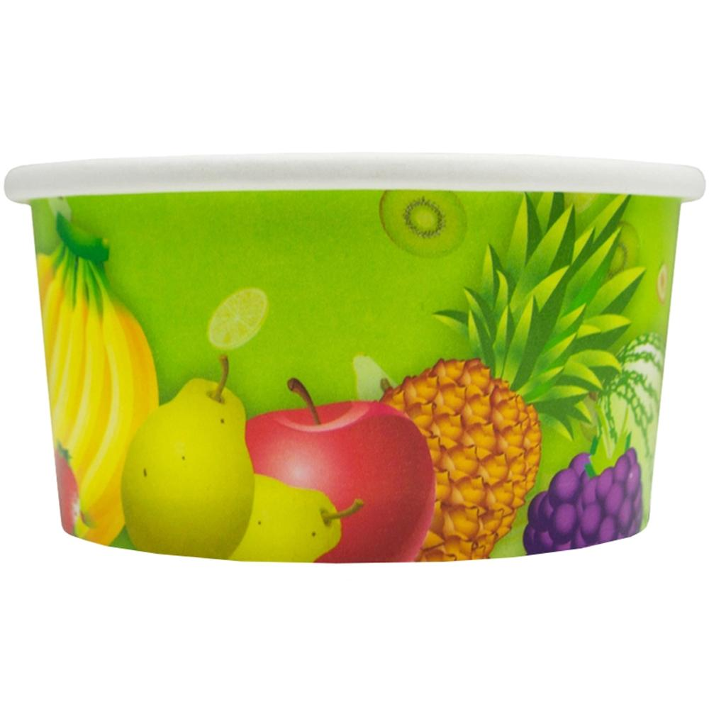 UNIQ 4 oz Fresh Fruit Take Out Cups