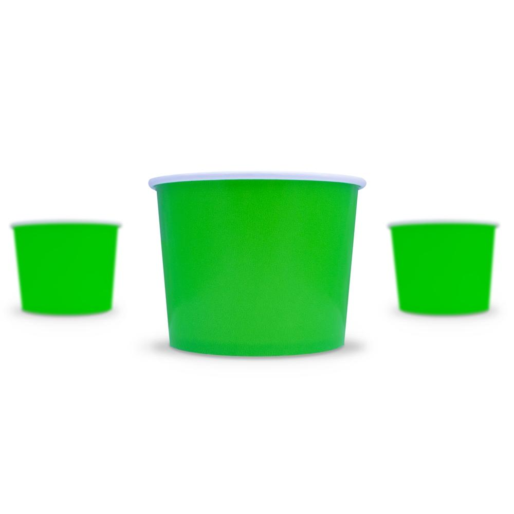 UNIQ 16 oz Green Take Out Cups