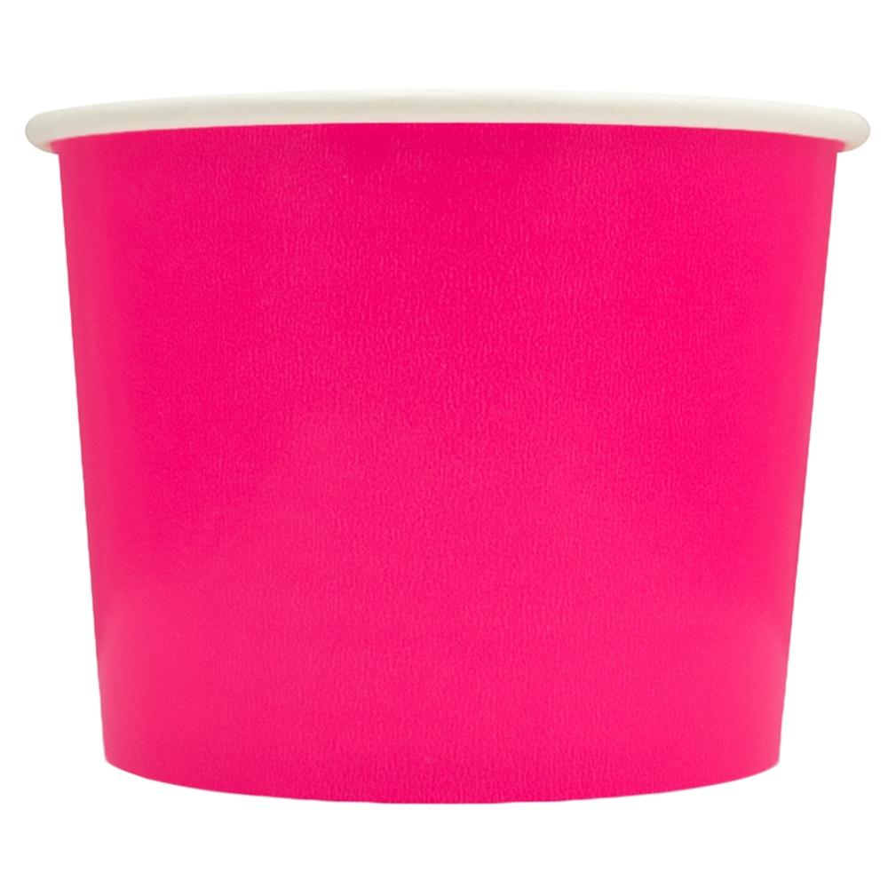 UNIQ 16 oz Pink Take Out Cups