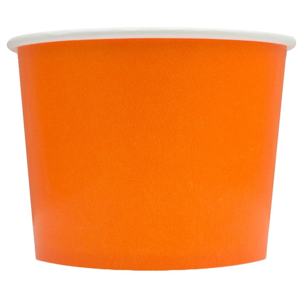 UNIQ 16 oz Orange Take Out Cups