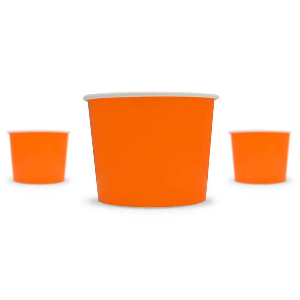 UNIQ 12 oz Orange Take Out Cups