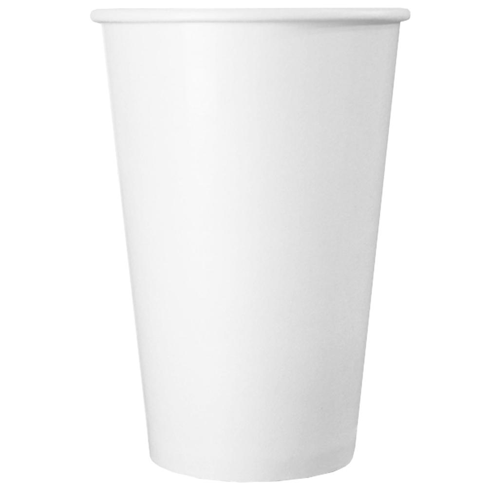 UNIQ® 16 oz White Paper Drink Cups