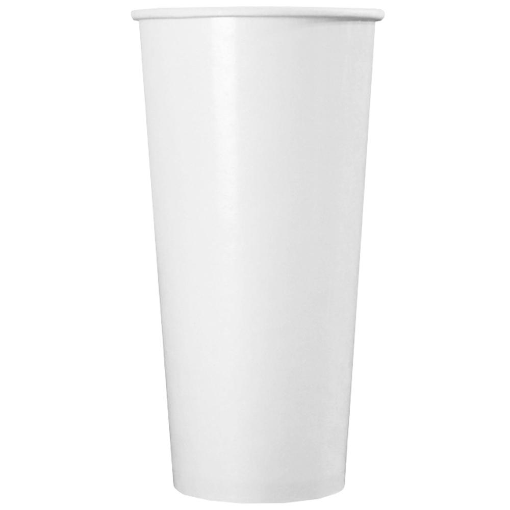 UNIQ® 22 oz White Paper Drink Cups