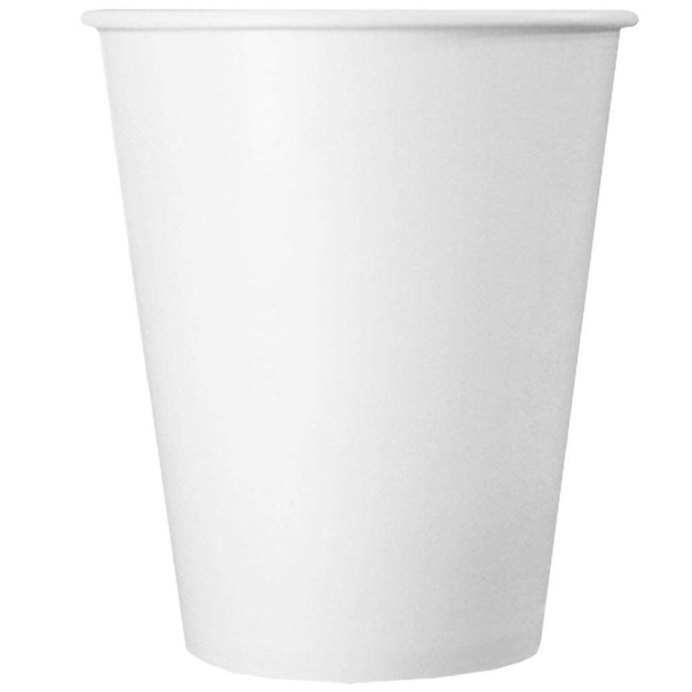 UNIQ® 12 oz White Paper Drink Cups