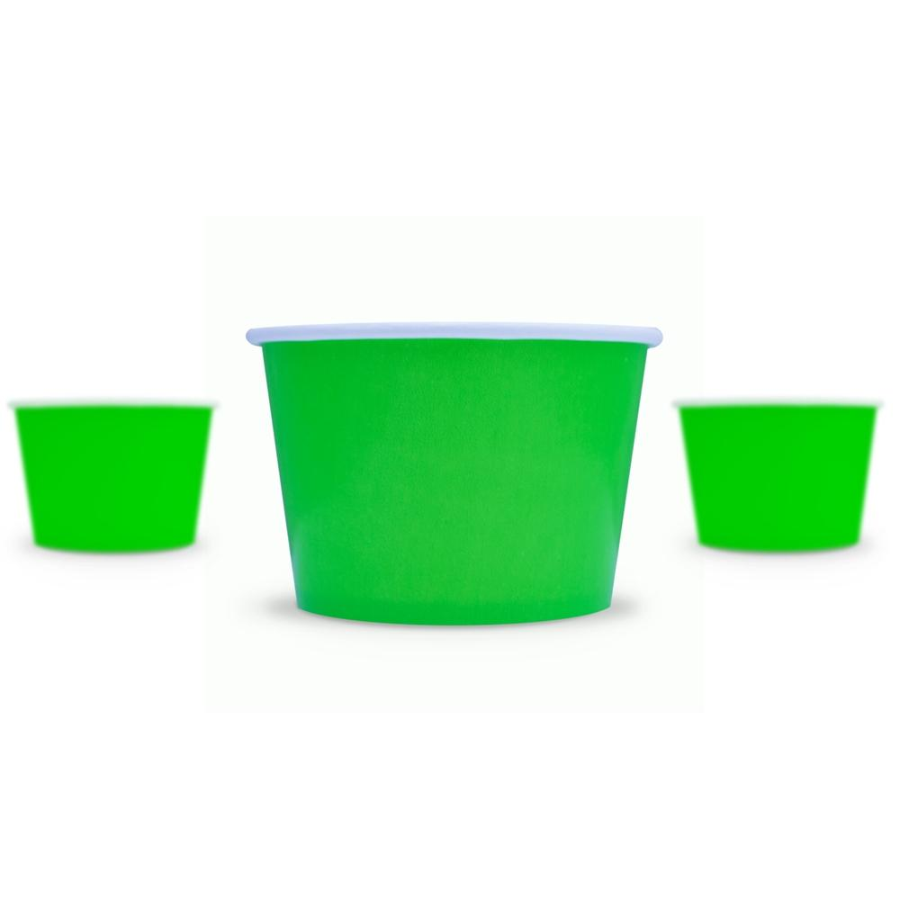 UNIQ 8 oz Green Take Out Cups