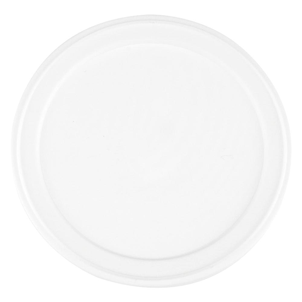 UNIQ® 4 oz White Flat Take Out Lids