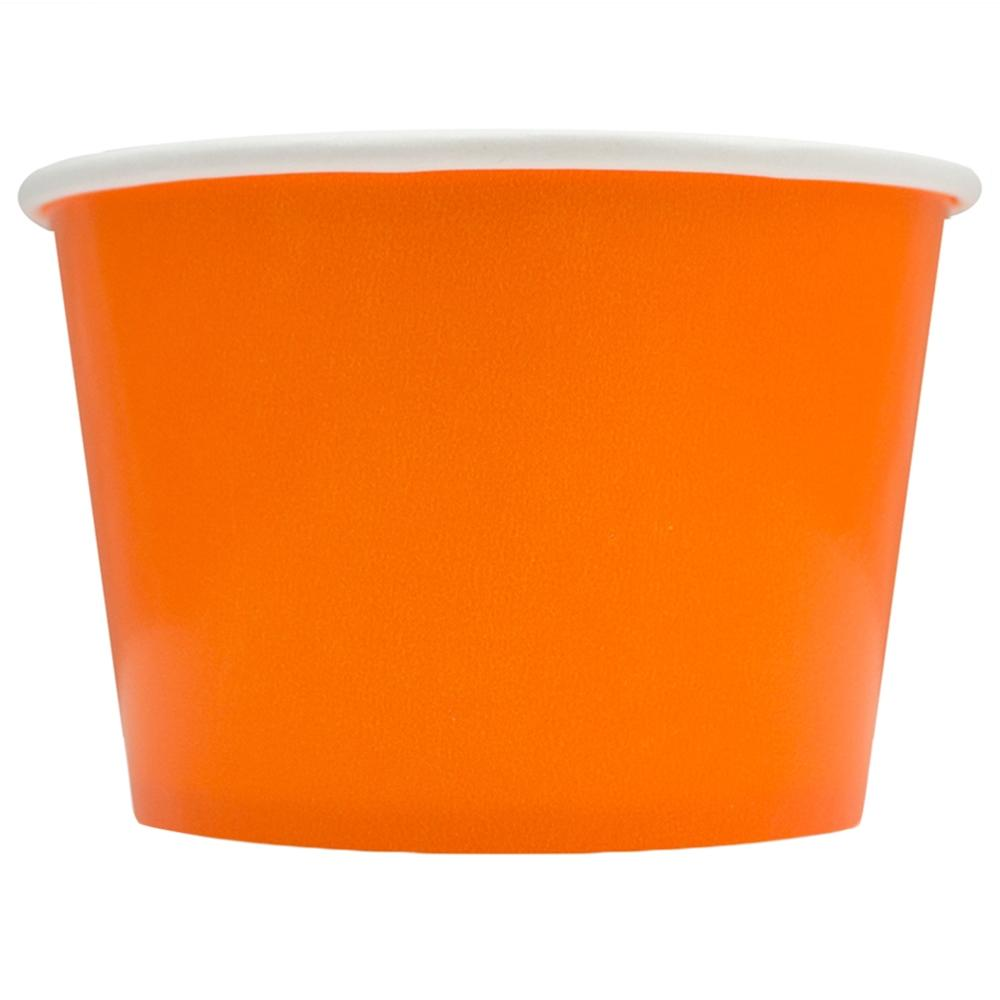 UNIQ 8 oz Orange Take Out Cups