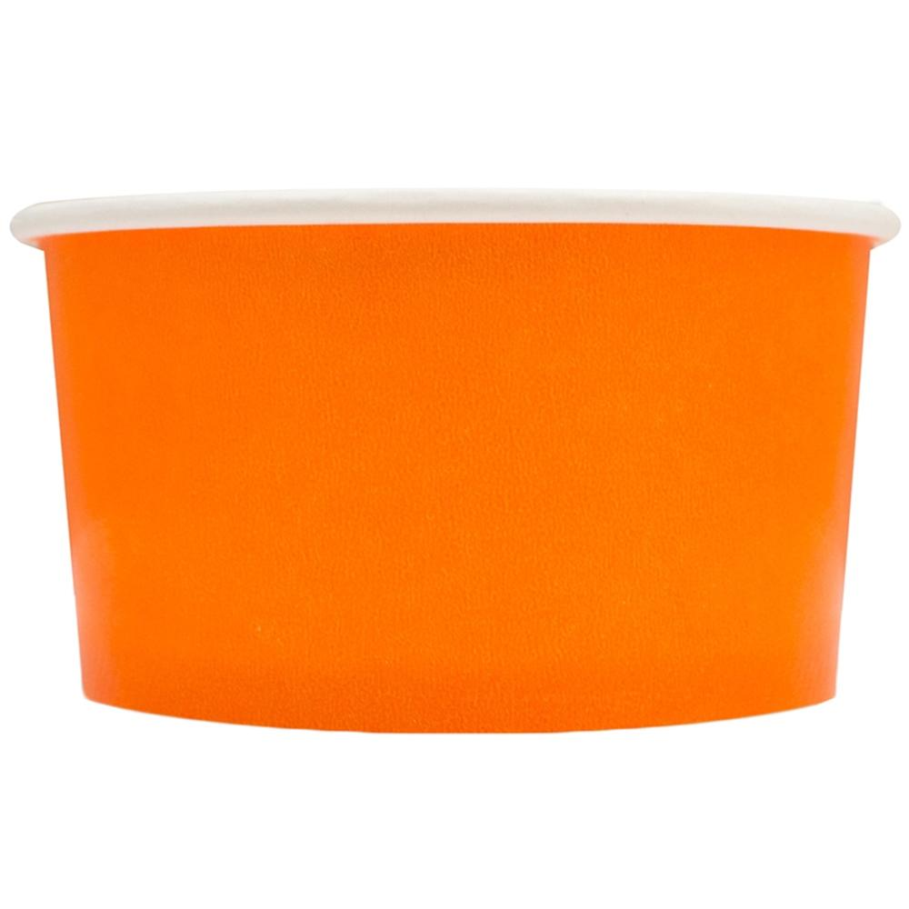 UNIQ 4 oz Orange Take Out Cups