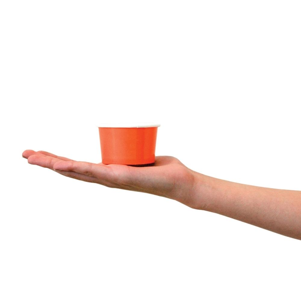 UNIQ 6 oz Orange Take Out Cups