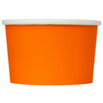 UNIQ 4 oz Orange Eco-Friendly Compostable Take Out Cups