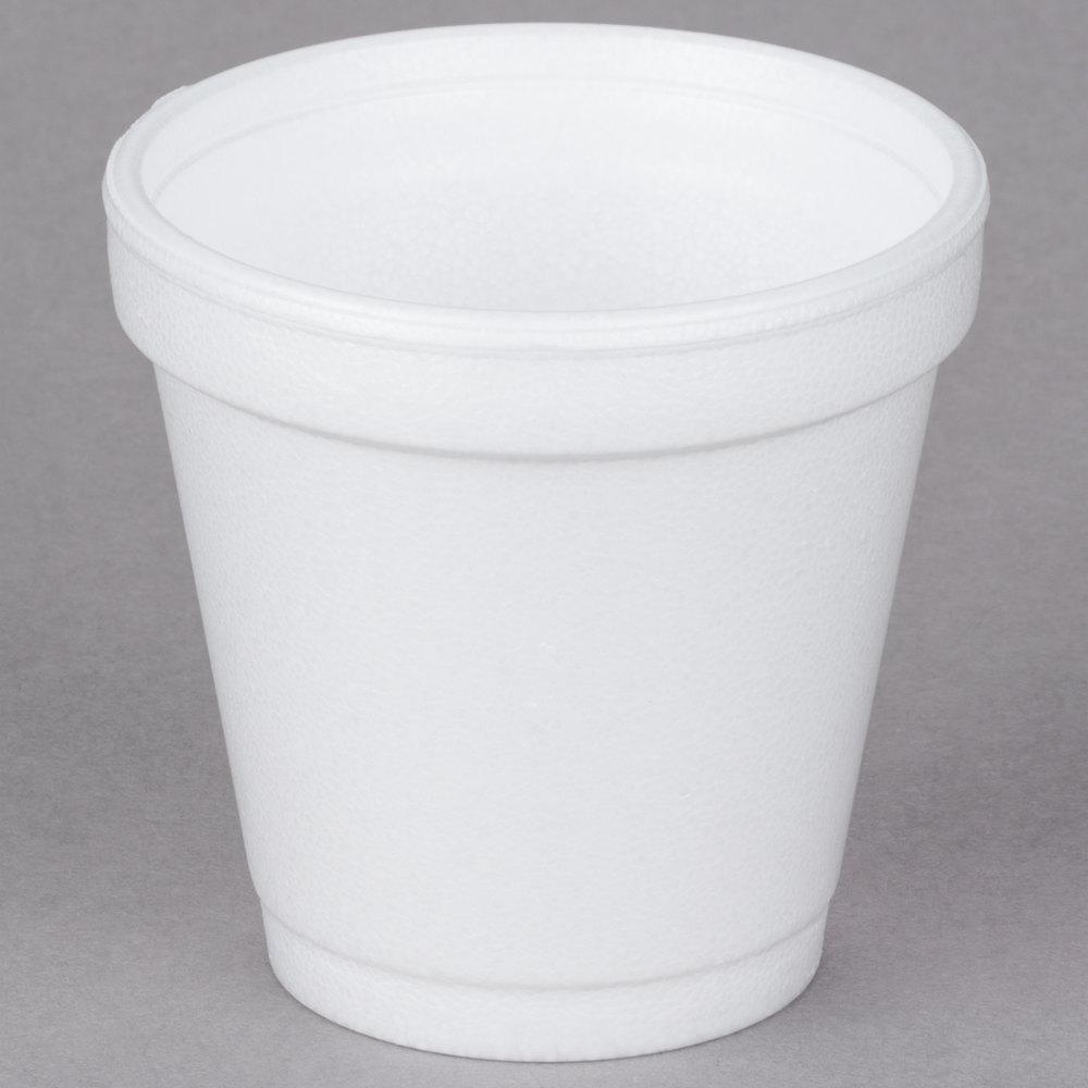 4 oz Foam Drink Cup