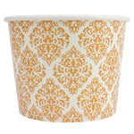 UNIQ 12 oz Elegant Gold Take Out Cups