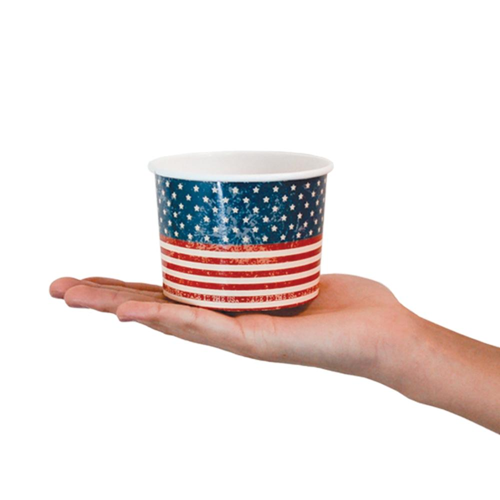 UNIQ 12 oz Red White and Beautiful Take Out Cups
