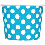 UNIQ 12 oz Blue Polka Dotty Take Out Cups