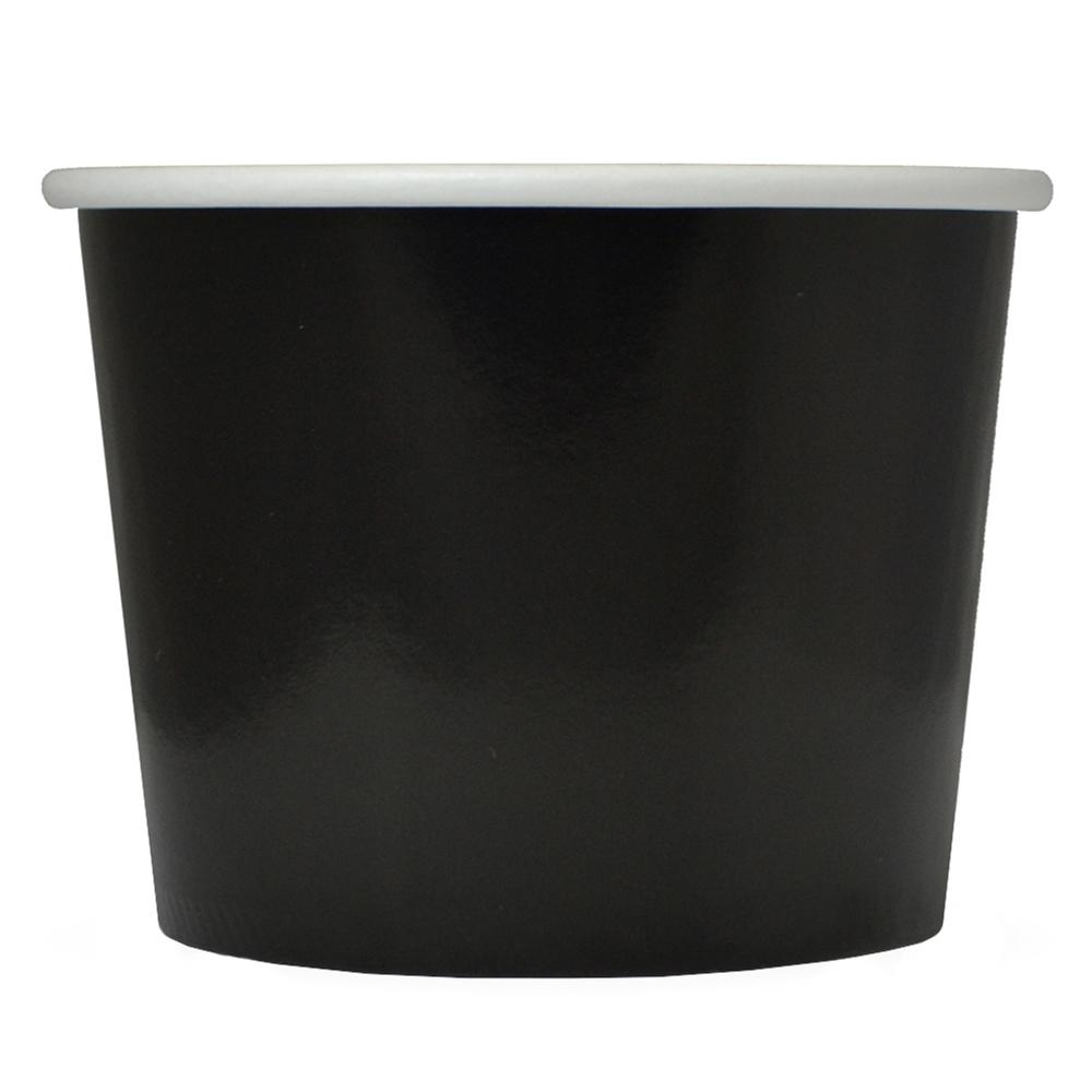 UNIQ 12 oz Black Take Out Cups