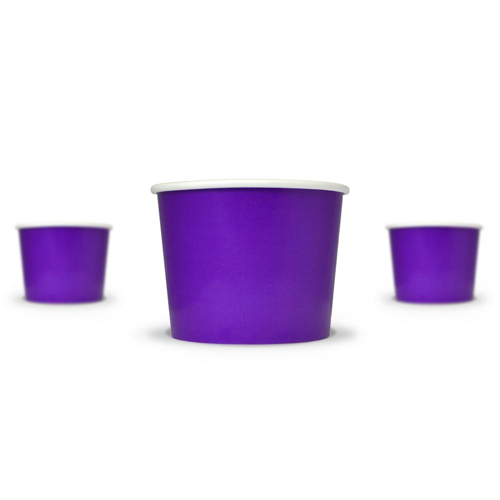 UNIQ 12 oz Purple Take Out Cups