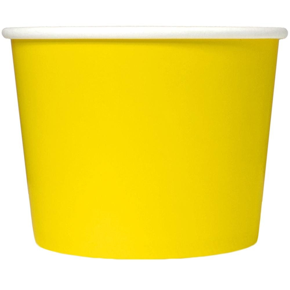 UNIQ 12 oz Yellow Take Out Cups