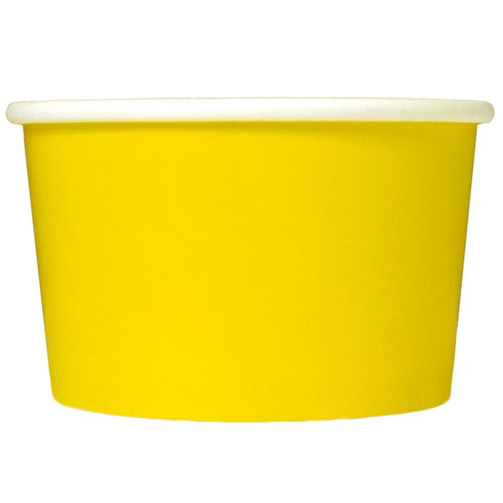 UNIQ 6 oz Yellow Take Out Cups