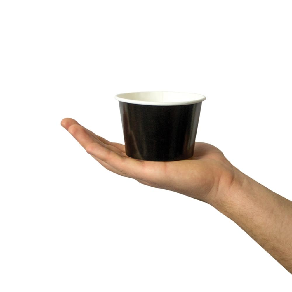 UNIQ 8 oz Black Take Out Cups