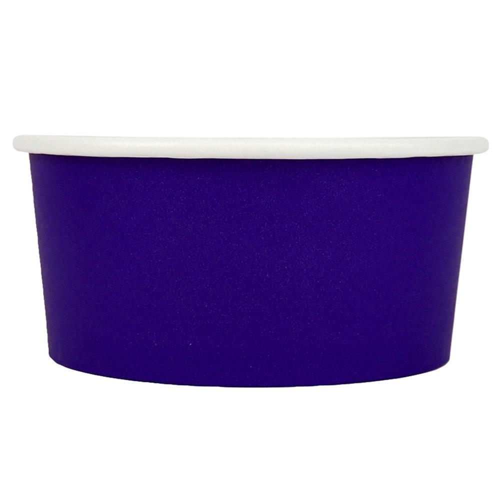 UNIQ 6 oz Purple Eco-Friendly Compostable Take Out Cups