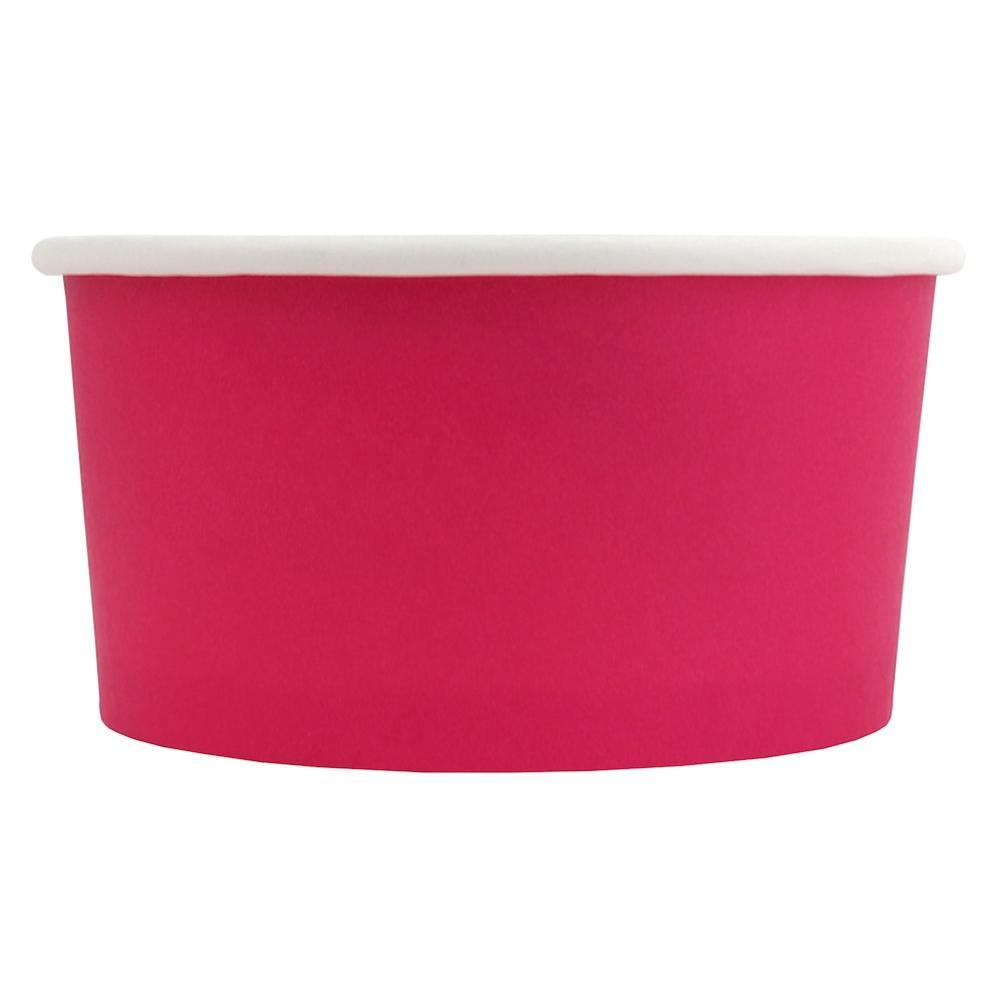 UNIQ 6 oz Pink Eco-Friendly Compostable Take Out Cups